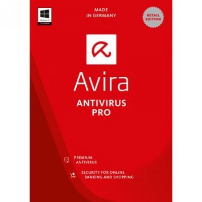 Avira Antivirus Pro 3 PC 1 AN