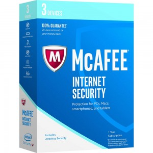 McAfee Internet Security 2017 1PC/1an