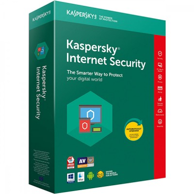 Kaspersky Internet Security 2018 1 PC 1 an