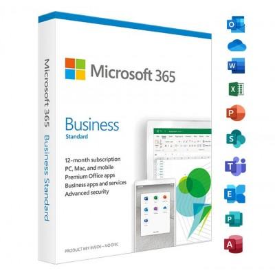 Microsoft Office 365 Business Standard 5-PC/MAC / 1 an