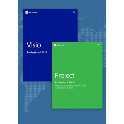 Project Professional 2016 + Visio Professional 2016
