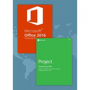 Office2016 Professional Plus + Project Professional 2016