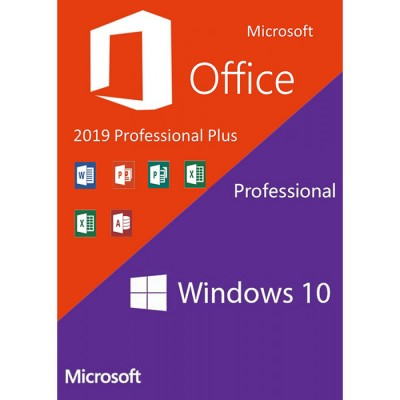 Windows10 PRO + Office2019 Professional Plus
