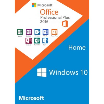 Windows 10 Home+Office 2016 Professional Plus