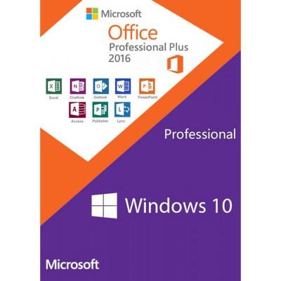 Windows10 PRO + Office2016 Professional Plus