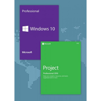 Windows10 PRO + Project Professional 2016