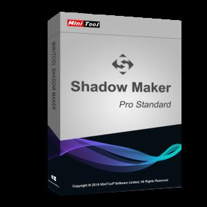 MiniTool ShadowMaker Pro 3.1 Standard