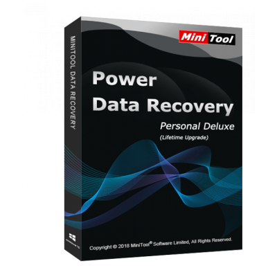 MiniTool Power Data Recovery Personal Deluxe